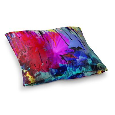 Li Zamperini Thoughts Square Floor Pillow Size: 23 x 23