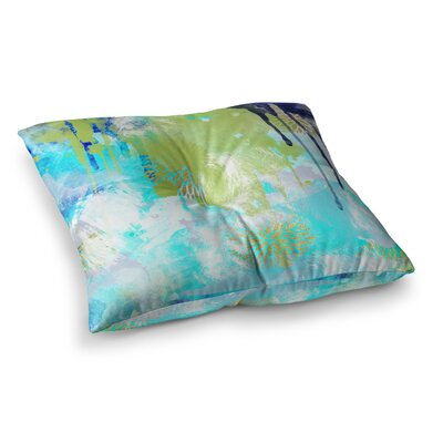 Li Zamperini Tropical Floor Pillow Size: 23 x 23