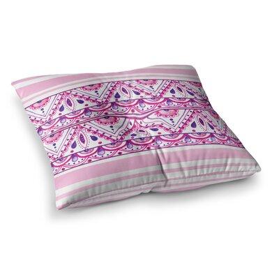 Li Zamperini Aztec Magenta Square Floor Pillow Size: 23 x 23