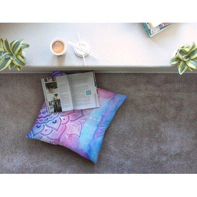Li Zamperini Light Mandala Square Floor Pillow Size: 26 x 26