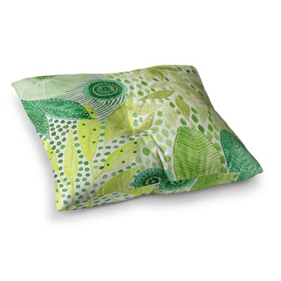 Li Zamperini Olive Square Floor Pillow Size: 23 x 23