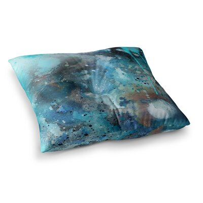 Li Zamperini Planet Square Floor Pillow Size: 23 x 23