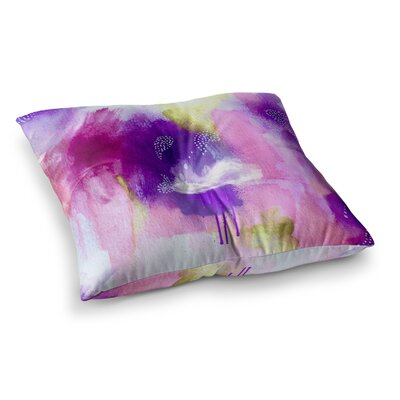 Li Zamperini Light Square Floor Pillow Size: 23 x 23