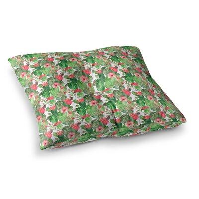 Li Zamperini Cactus Dance Illustration Square Floor Pillow Size: 23 x 23