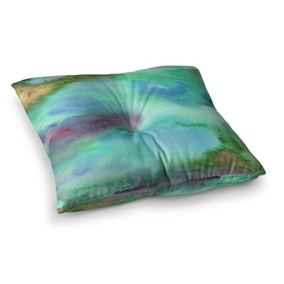 Li Zamperini Island Square Floor Pillow Size: 26 x 26