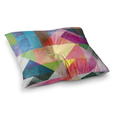 Mareike Boehmer Blocking Abstract Square Floor Pillow Size: 23 x 23