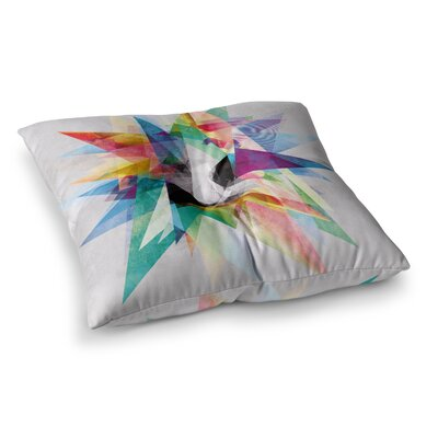 Mareike Boehmer Abstract Square Floor Pillow Size: 23 x 23