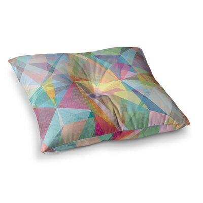 Mareike Boehmer Graphic 32 Abstract Square Floor Pillow Size: 26 x 26