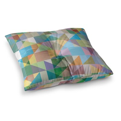 Mareike Boehmer Graphic 74 Abstract Square Floor Pillow Size: 23 x 23