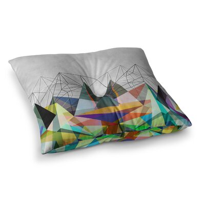 Mareike Boehmer Colorflash 3X Square Floor Pillow Size: 26 x 26