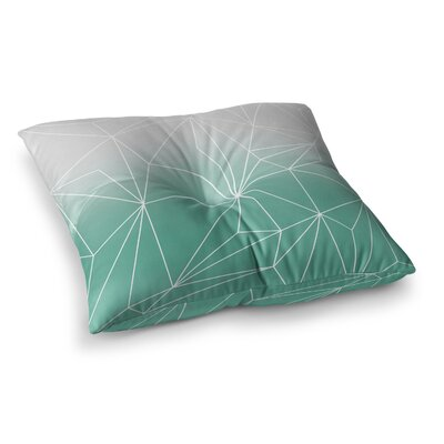 Mareike Boehmer Simplicity Square Floor Pillow Size: 26 x 26, Color: Teal
