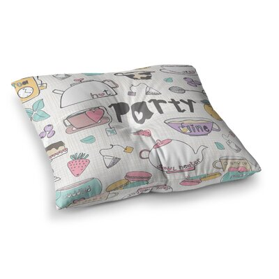 MaJoBV Party Square Floor Pillow Size: 26 x 26