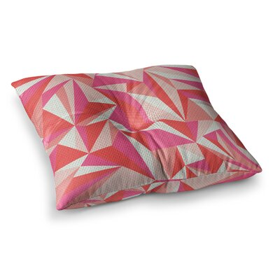 MaJoBV Stitched Pieces Square Floor Pillow Size: 26 x 26