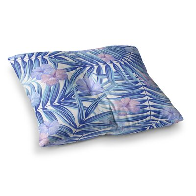 Marta Olga Klara Hawaiian Pattern Square Floor Pillow Size: 23 x 23