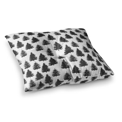 Marta Olga Klara Pine Forest quare Floor Pillow Size: 23 x 23