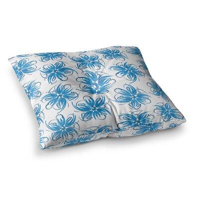 Maria Bazarova Flower Centaur 1 Floral Square Floor Pillow Size: 26 x 26