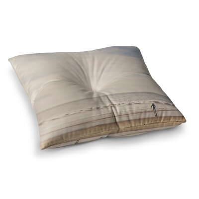 Myan Soffia Ritual Beach Sand Square Floor Pillow Size: 23