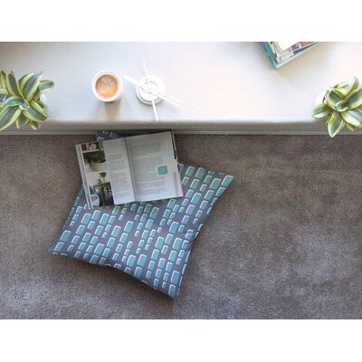 Michelle Drew Cubic Geek Chic Square Floor Pillow Size: 26 x 26