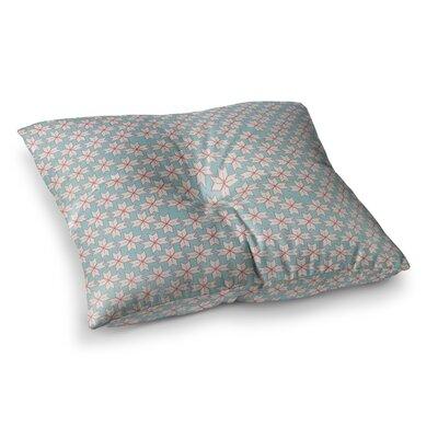 Michelle Drew Vintage Christmas Square Floor Pillow Size: 26 x 26