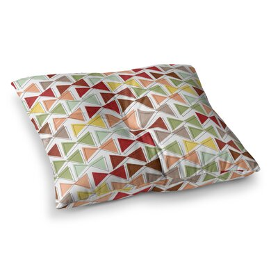 Michelle Drew Bowties Square Floor Pillow Size: 26 x 26