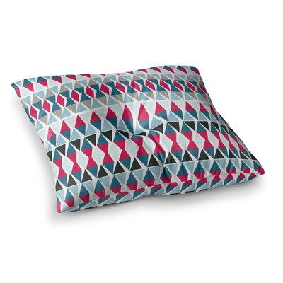 Michelle Drew Triangle Circus Drums Square Floor Pillow Size: 23 x 23