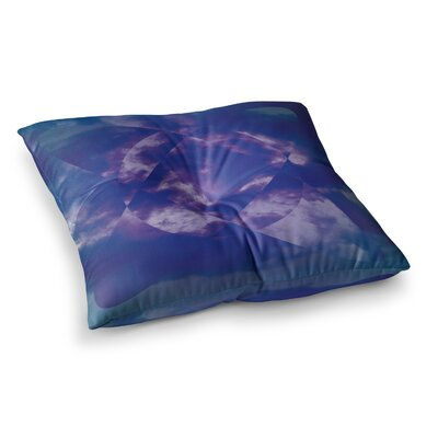 Matt Eklund Spectral Square Floor Pillow Size: 23 x 23