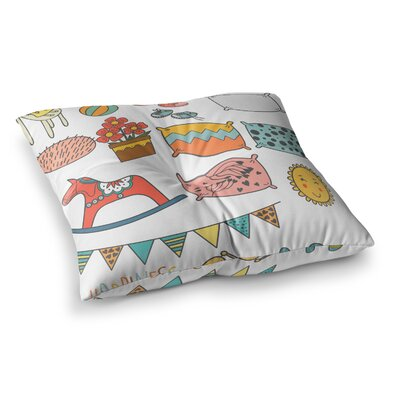 Petit Griffin Room Square Floor Pillow Size: 26 x 26