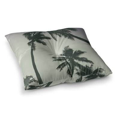 Mary Carol Fitzgerald Rise Of Palms Photography Square Floor Pillow Size: 26 x 26