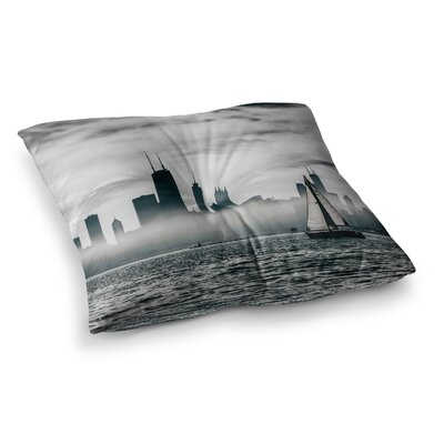 Mary Carol Fitzgerald Free Spirit Chicago Photography Square Floor Pillow Size: 23