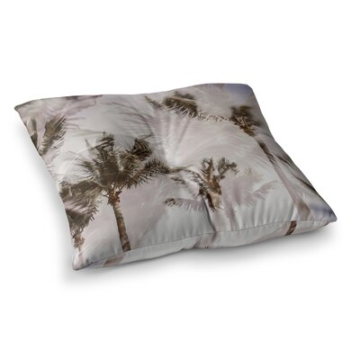 Mary Carol Fitzgerald Abstract Palms Photography Square Floor Pillow Size: 26 x 26