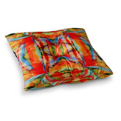 Matthias Hennig Motley Square Floor Pillow Size: 23