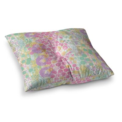 Chickaprint Impression Mix Square Floor Pillow Size: 23 x 23