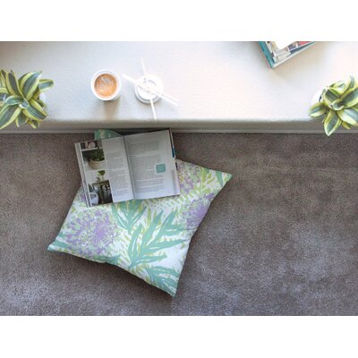 Chickaprint Varen Square Floor Pillow Size: 26 x 26