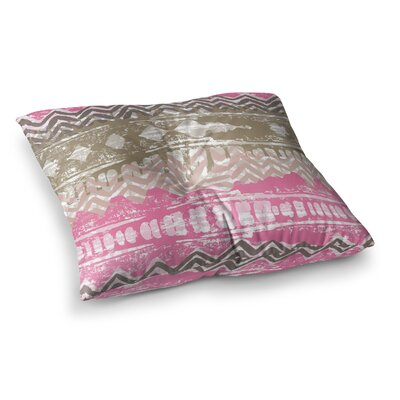 Chickaprint Allegro Square Floor Pillow Size: 26 x 26