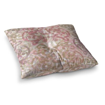 Chickaprint Chintz Square Floor Pillow Size: 23 x 23