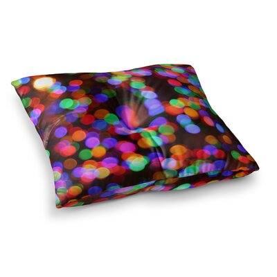 Maynard Logan Lights Square Floor Pillow Size: 26 x 26