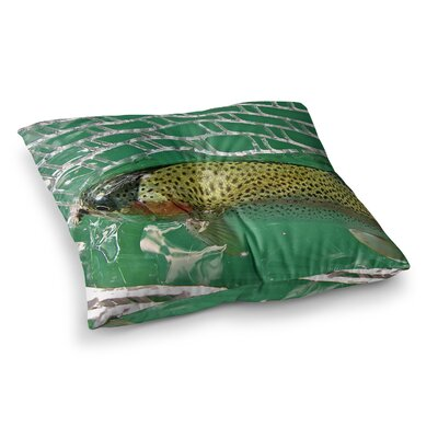 Maynard Logan Catch Square Floor Pillow Size: 26 x 26