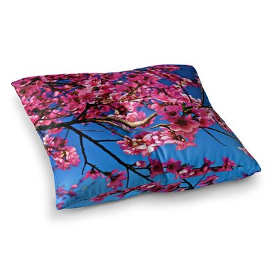 Maynard Logan Flowers Square Floor Pillow Size: 26 x 26