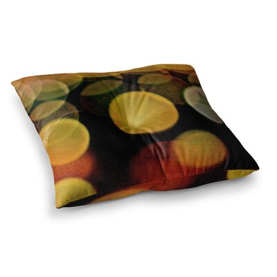 Maynard Logan Lights Square Floor Pillow Size: 23 x 23
