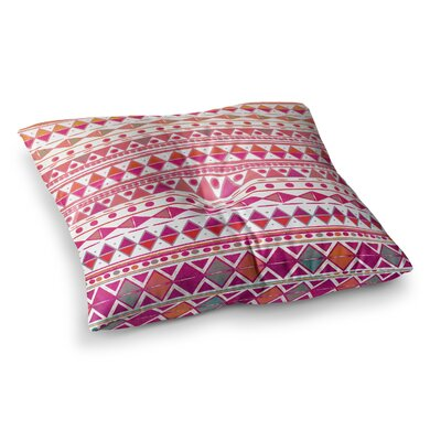 Nika Martinez Summer Breeze Square Floor Pillow Size: 23 x 23