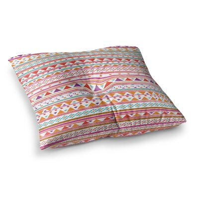 Nika Martinez Native Bandana Square Floor Pillow Size: 23 x 23