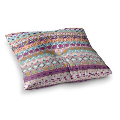 Nika Martinez Ayasha Square Floor Pillow Size: 26 x 26
