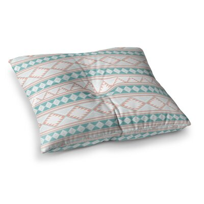 Nika Martinez Yerbabuena Square Floor Pillow Size: 26 x 26