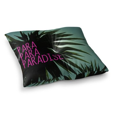 Nika Martinez Exotic Paradise Square Floor Pillow Size: 23 x 23