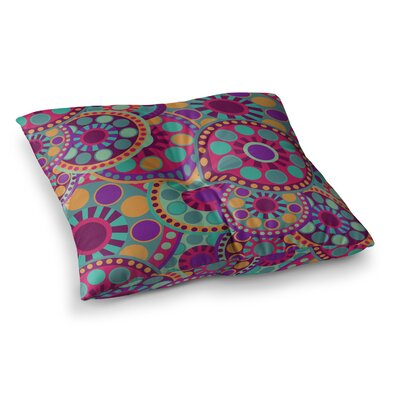 Nika Martinez Valencia Square Floor Pillow Size: 23 x 23