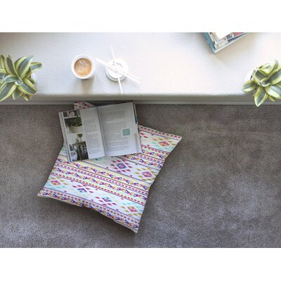 Nika Martinez Aylen Square Floor Pillow Size: 26 x 26