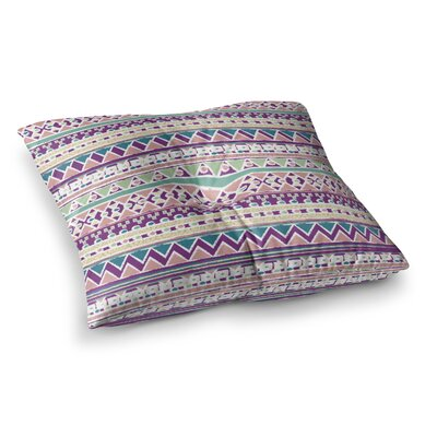 Nika Martinez Boho Ibiza Square Floor Pillow Size: 23 x 23