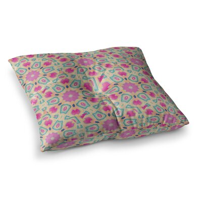 Nika Martinez Arabesque Square Floor Pillow Size: 26 x 26