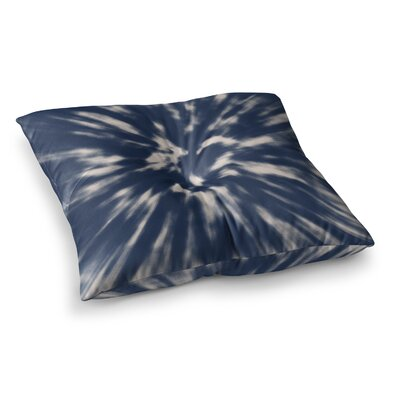 Nika Martinez Tie Dye Square Floor Pillow Size: 23 x 23