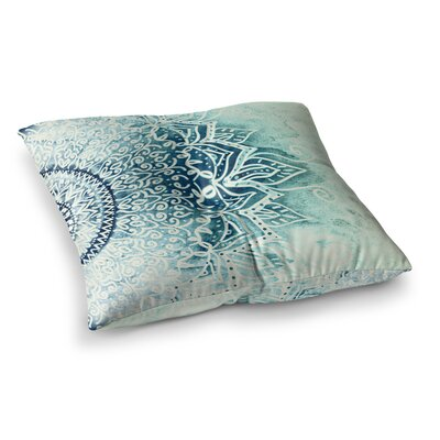 Nika Martinez Mina Mandala Square Floor Pillow Size: 23 x 23